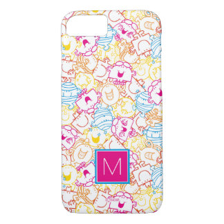 Neon Colors Pattern | Monogram iPhone 8/7 Case