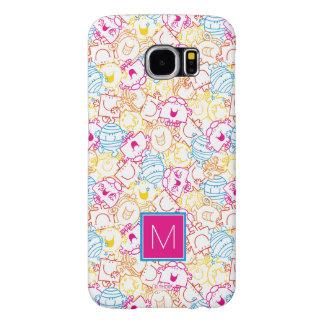 Neon Colors Pattern   Monogram Samsung Galaxy S6 Cases