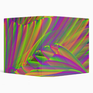 Neon Colors with Tree 3-Ring Binder