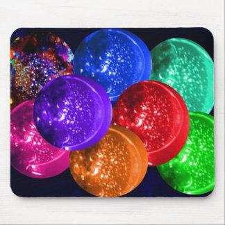 Neon Cyrstal Space Balls by JudyMarisa sig 2009  4 Mouse Pad