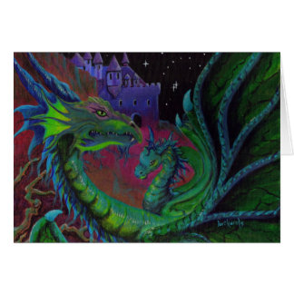 NEON DRAGON I CARD