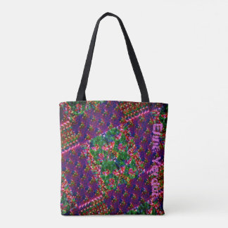 Neon dream tote bag
