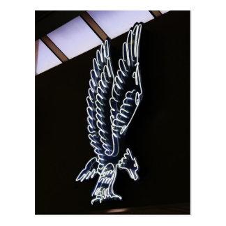Neon Eagle Sign # 1 Postcard