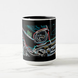Neon Effect Revin' 57 Driving the Classics - Mug