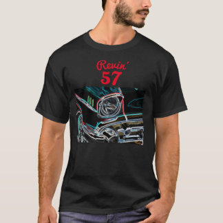 Neon Effect Revin' 57 Driving the Classics - T-Shirt