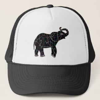Neon Electric Elephant Trucker Hat