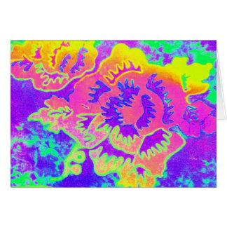 Neon Fantasy Card