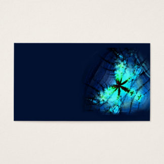 Neon firefly business card