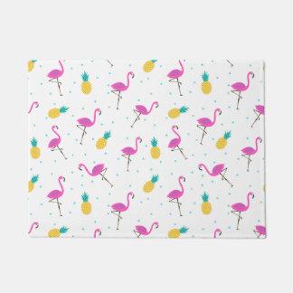 Neon Flamingos 2 Doormat