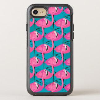 Neon Flamingos Two OtterBox Symmetry iPhone 7 Case