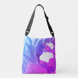 Neon Girl Crossbody Bag