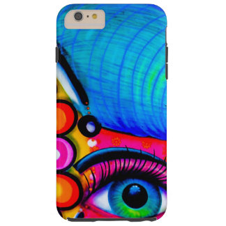 Neon Grafitti Tough iPhone 6 Plus Case