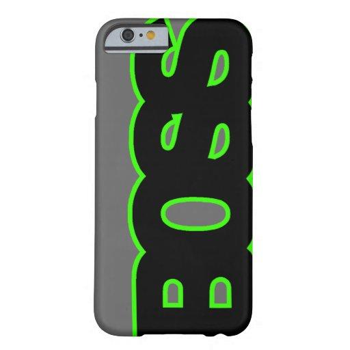 Neon Green BOSS iPhone 6 Case