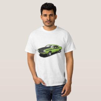 Neon Green Challenger classic car t-shirt