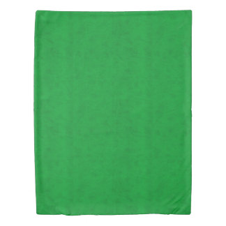 Neon Green Color Velvet Look Grass Green Duvet Cover