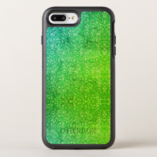 Neon Green Floral Bright Colorful Vitality OtterBox Symmetry iPhone 8 Plus/7 Plus Case
