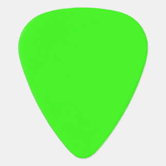 Neon Green Guitar Pick