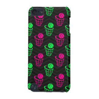 Neon Green, Hot Pink, Basketball, Black Chevron iPod Touch 5G Covers
