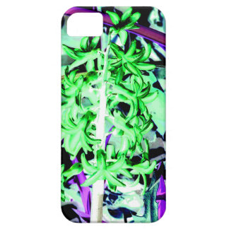 Neon Green Hyacinth iPhone 5 Cases