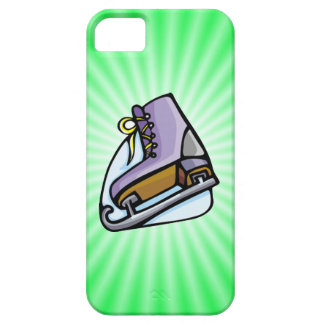 Neon Green Ice Skate. iPhone 5 Covers