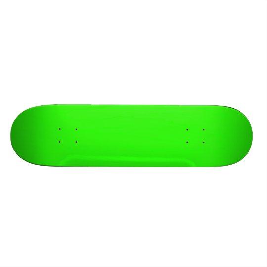 Neon Green Light Bright Fashion Colour Trend 2014 Skateboard Decks