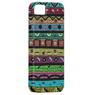 Neon Green Mosaic iPhone 5 Cover