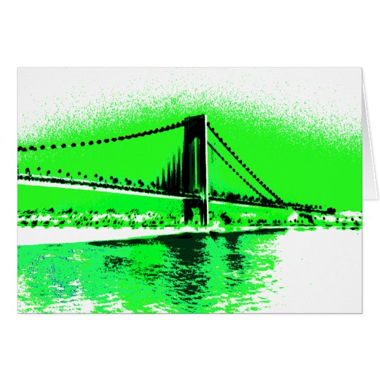 Neon Green Narrows card