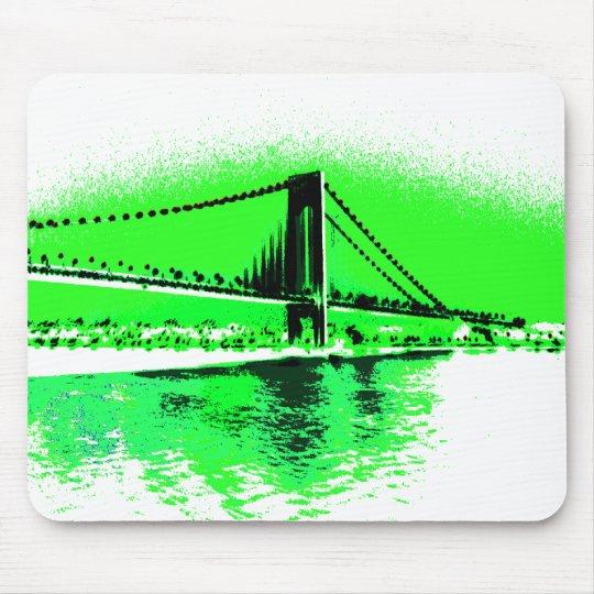 Neon Green Narrows mousepad