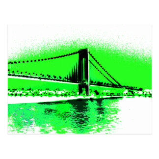 Neon Green Narrows postcard
