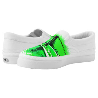 Neon Green Narrows Z slipons Slip-On Sneakers
