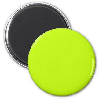 Neon Green Neon Yellow Highlighter Color Vivid Magnet