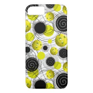 Neon green  Pickleballs Case-Mate iPhone Case