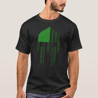Neon Green Spartan T-Shirt