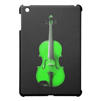 Neon Green Violin iPad Case