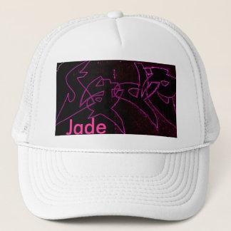 Neon Jade Trucker Hat
