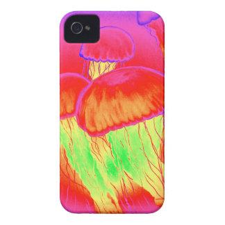 Neon Jellyfish Case-Mate iPhone 4 Case
