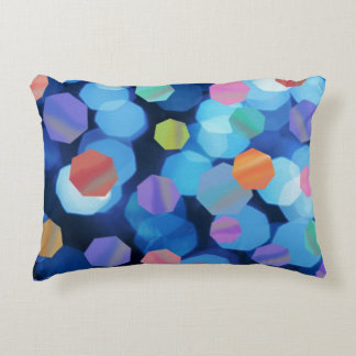 Neon Jewels Accent Pillow