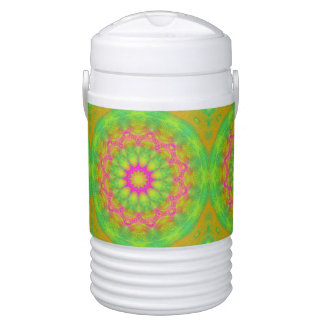 Neon Kaleidoscope Drinks Cooler