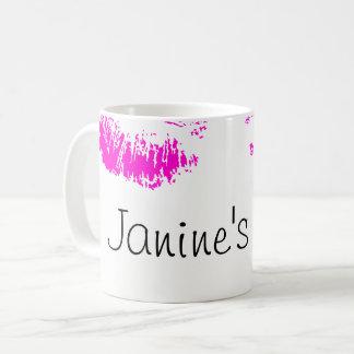 Neon Kiss Coffee Mug