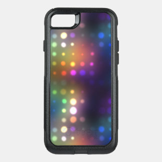 Neon Lights Abstract OtterBox Commuter iPhone 8/7 Case