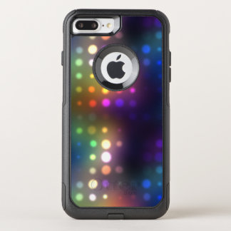Neon Lights Abstract OtterBox Commuter iPhone 8 Plus/7 Plus Case