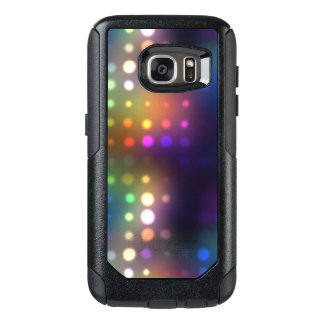Neon Lights Abstract OtterBox Samsung Galaxy S7 Case