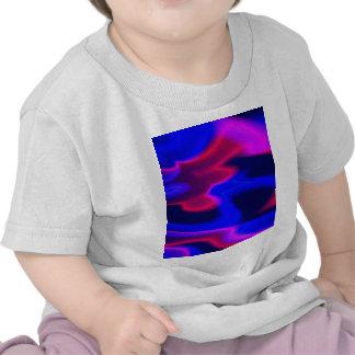 Neon Lights,blue T-shirts