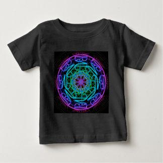 Neon Lights Mandala Design Baby T-Shirt