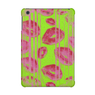 Neon Lime Red Lips iPad Mini Retina Cases