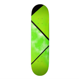 Neon Limeade Green Black Customizable Deck 0 Custom Skate Board