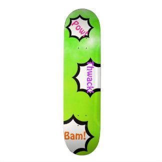Neon Limeade Green Customizable Deck Custom Skate Board Decks