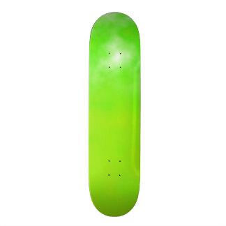 Neon Limeade Green Customizable Deck Custom Skateboard