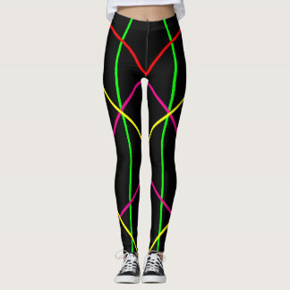 Neon Lines Leggings