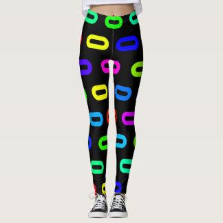 Neon Links Leggings